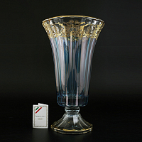 Ваза н/н Timon s.r.l. Doge Vase+steam blue gold