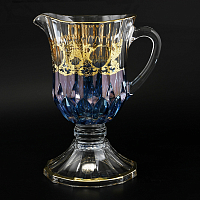 Графин н/н Timon s.r.l. Adagio jug steam blue gold