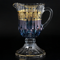 Графин Timon s.r.l. Adagio jug steam blu gold